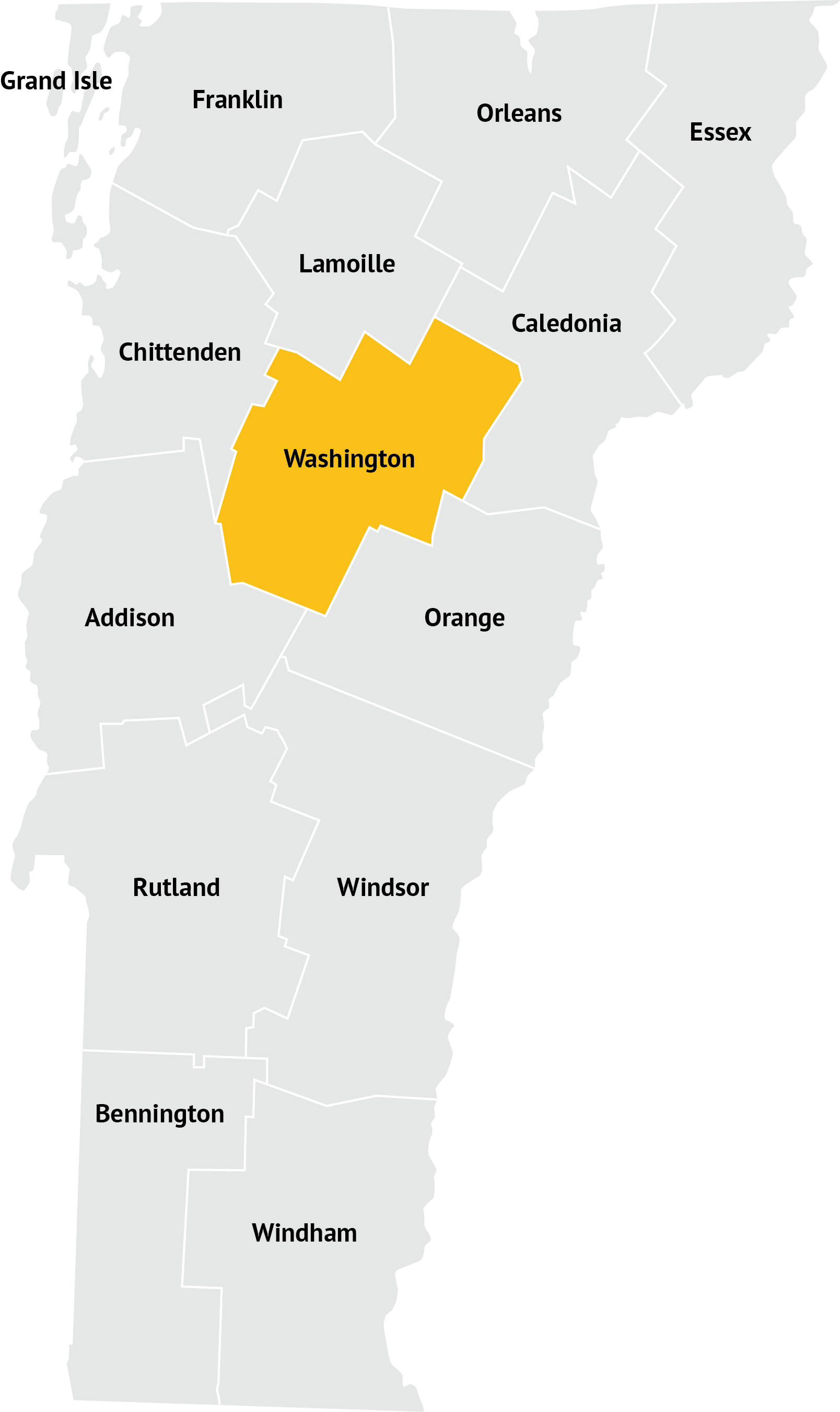 Corinth Washington Map.Washington County Vermont Network